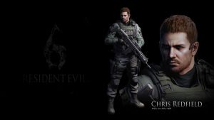 Resident evil 6: Chris Redfield by heatheryingNL