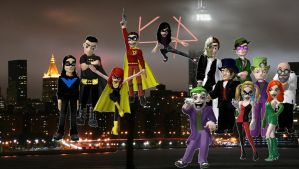 Gotham City Meez by CatrionaMalfoy