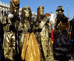 Venice Carnival 2013 - Golden Reunion by vladioglas