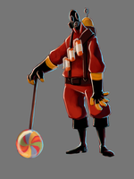 TF2 - Pyro aw yea by SuperKusoKao
