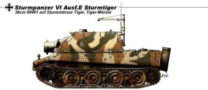 Sturmpanzer VI Ausf.E by nicksikh