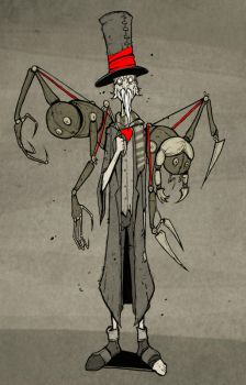 Marionette Hatter by ThePsychoGoat