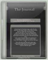 DVD Journal Skin by thatfire-stock
