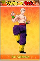 Dragon Ball - Tien Shinhan WS by DBCProject