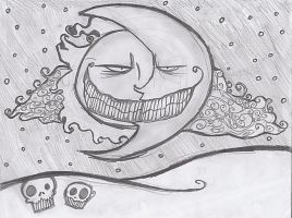 gris grimly stlye moon and sun by jackskellington778