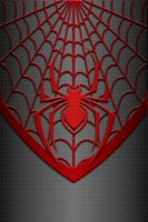 Miles Morales Spiderman Costume Wallpaper by KalEl7