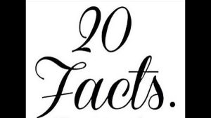 20 Facts About Myself by SpotpeltTheWarrior69