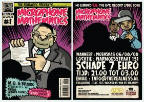 Microphone Mathmatics Flyer by miZter-maZe