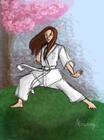 A black belt is a white belt that never quit tryin by YukiTheDemigod