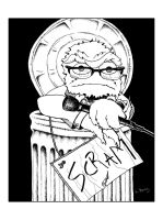 Lewis Black the Grouch by ScienceMonster