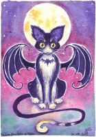 Bat Cat by MorganeDeMatons