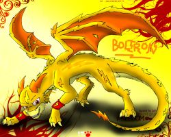 BOLTRON the Electric Dragon by catkitte