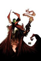 Spawn 185 cover art by DrawJinDraw-jinhan