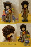 Fourth Doctor amigurumi by ilwin