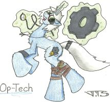 Op-Tech OC doodle by JSHaseo