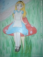 Alice in Prismacolorland by Toadychan