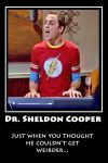 Sheldon cooper by Mallowolf