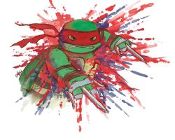 TMNT: Seeing Red by Mosrael-the-Waker