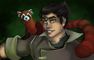 Bolin and Pabu by ElizaLento