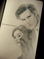 Doctor and Clara by Vikki93