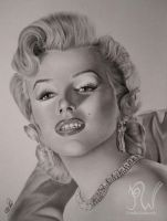 Marilyn Monroe by PriscillaW