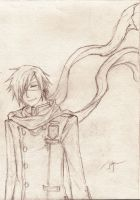 Another Lavi sketch by Julye-chan