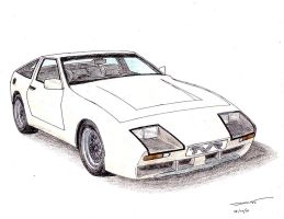 1030 - TVR White Elephant by TwistedMethodDan