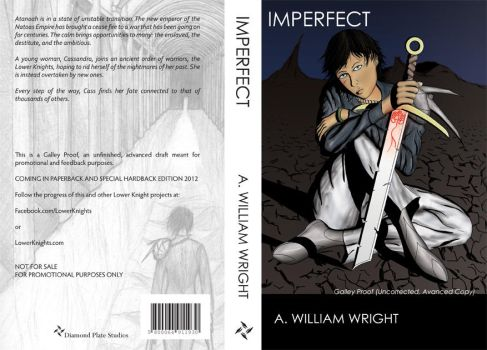 Cover Spread for IMPERFECT by BrainCrash