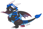 Chibi Finlay - Commission Example by SilverdragonKathy