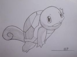 007 Squirtle by SoraSonic