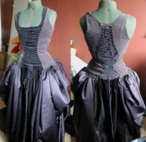 Graduations prom dress by -silverwing-