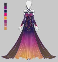 [CLOSED] Dress adopt by onavici