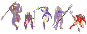 FFV Dragoons by ObstinateMelon