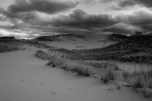 Clouds Over Silver Lake Sand Dunes by starfire777