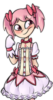 Madoka gurl by Kas-the-Cat