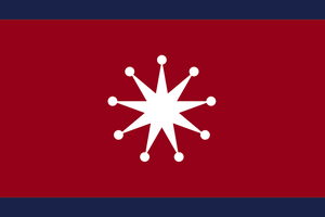 Vice-President Standard of Free Chinese Republic by otakumilitia