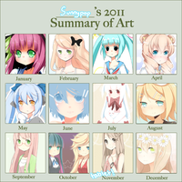 2011 Summary of art by jauni