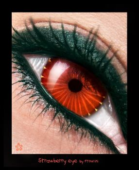 The strawberry eye by ftourini
