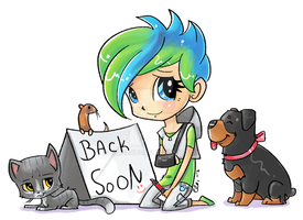 Back Soon by EllisArts