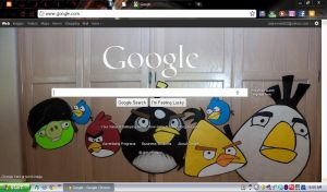 Angry Birds Google Background by Chrissiannie