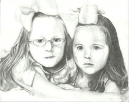 Sisters in Crime by portraitsRme13