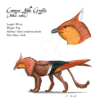 Common Noble Griffin by Larua