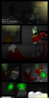 AFL5: Fight 1 - vs. Shadey by Sol-Domino