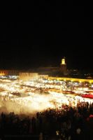 Marrakesh, Jemaa El Fna,.. by littleblackcloud91