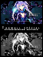 Tagwall hyperdimension neptunia by Djeckley