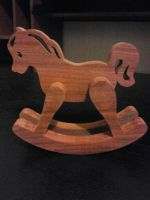 Rocking Horse Child's Toy by ichtheria