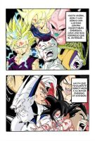 Pagina coloreada de Dragon Ball AF /YoungJijii/ by Renow54