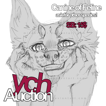 YCH Auction - CLOSED by Misaki-Mai