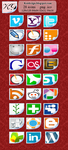 koidesign social icon pack by koidesign