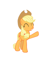 AppleJack Vector by TryHardBrony